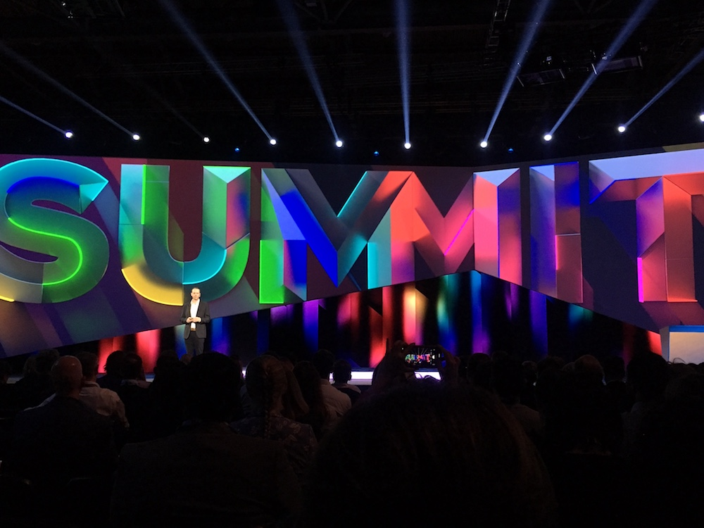 Paul Robsen, Adobe President EMEA beim Summit in London
