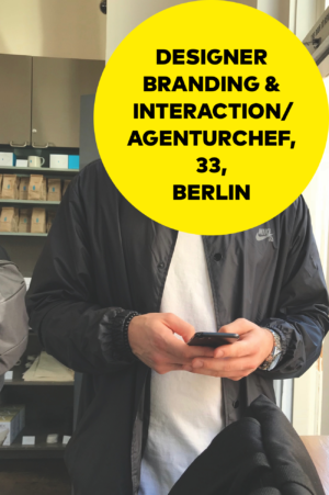 Designer Gehaltsreport: Agenturchef für Branding und Interaction Design
