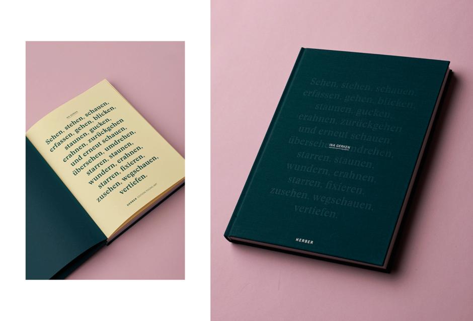 Monografie für die Künstlerin Ina Gerken
