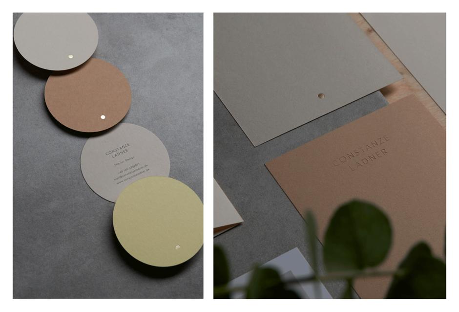 Corporate Design & Geschäftsausstattung für die Interior-Designerin Constanze Ladner