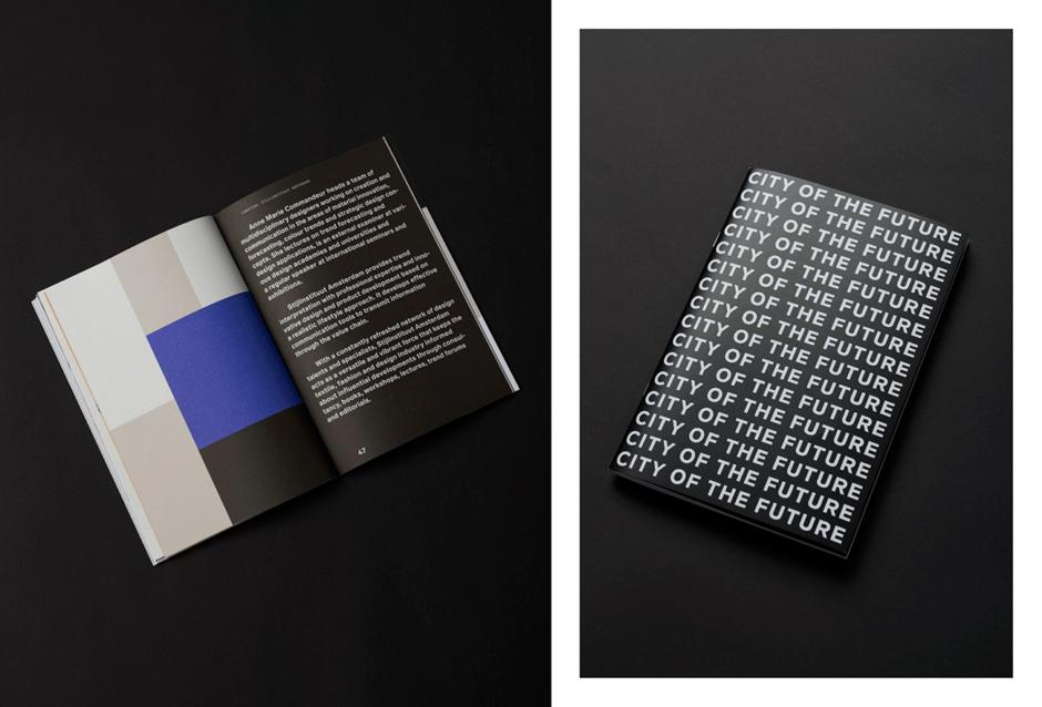Broschüre & Corporate Design für »Urban Living – City of the Future«