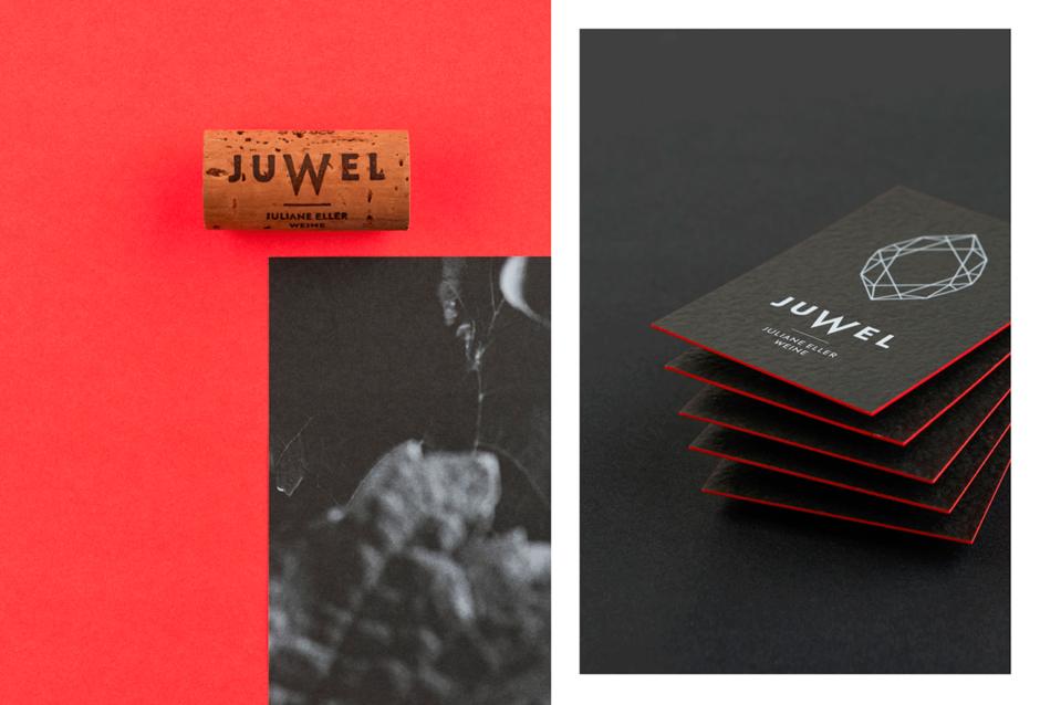 Corporate Design für »Juwel-Weine«