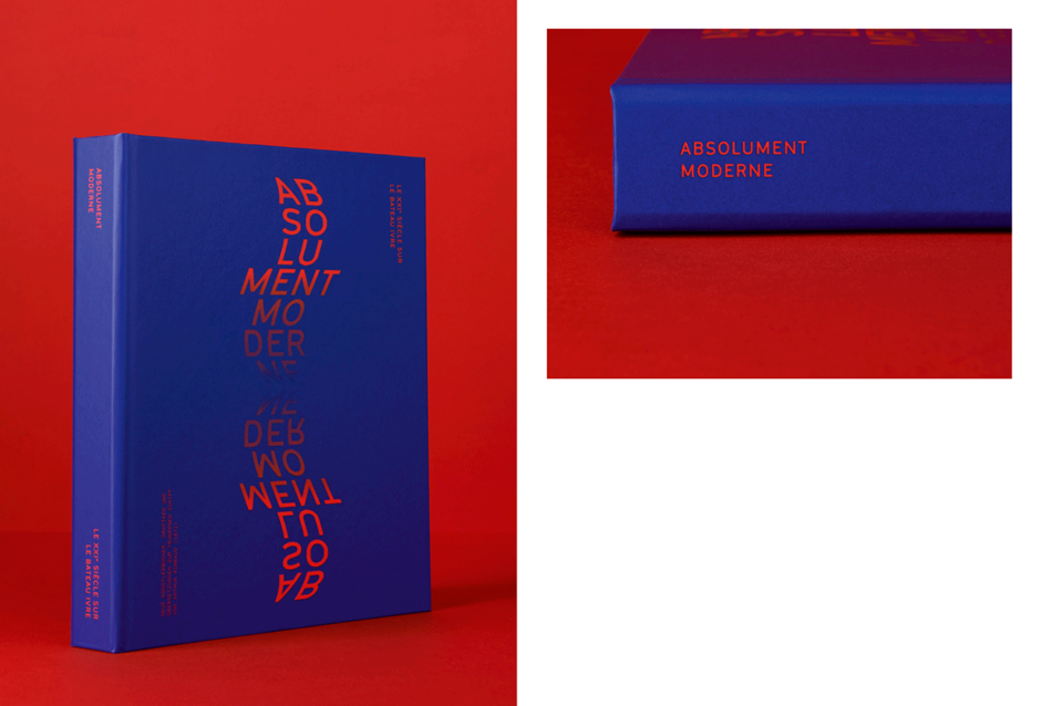 Begleitband zur Ausstellung »Absolument Moderne« für das Gutenberg-Museum