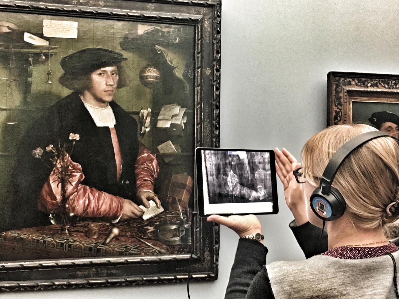 Kunsthistorischer Röntgenblick mit AR