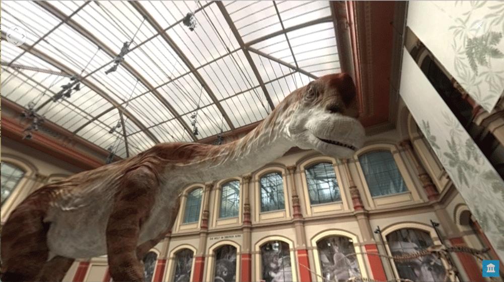 Mixed Reality im Museum:Dino Watching mit VR