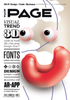 PAGE 08.2019 Cover, 3d Art, 3D Animation, 3D Artist, 3d Modeling, Grafikdesign