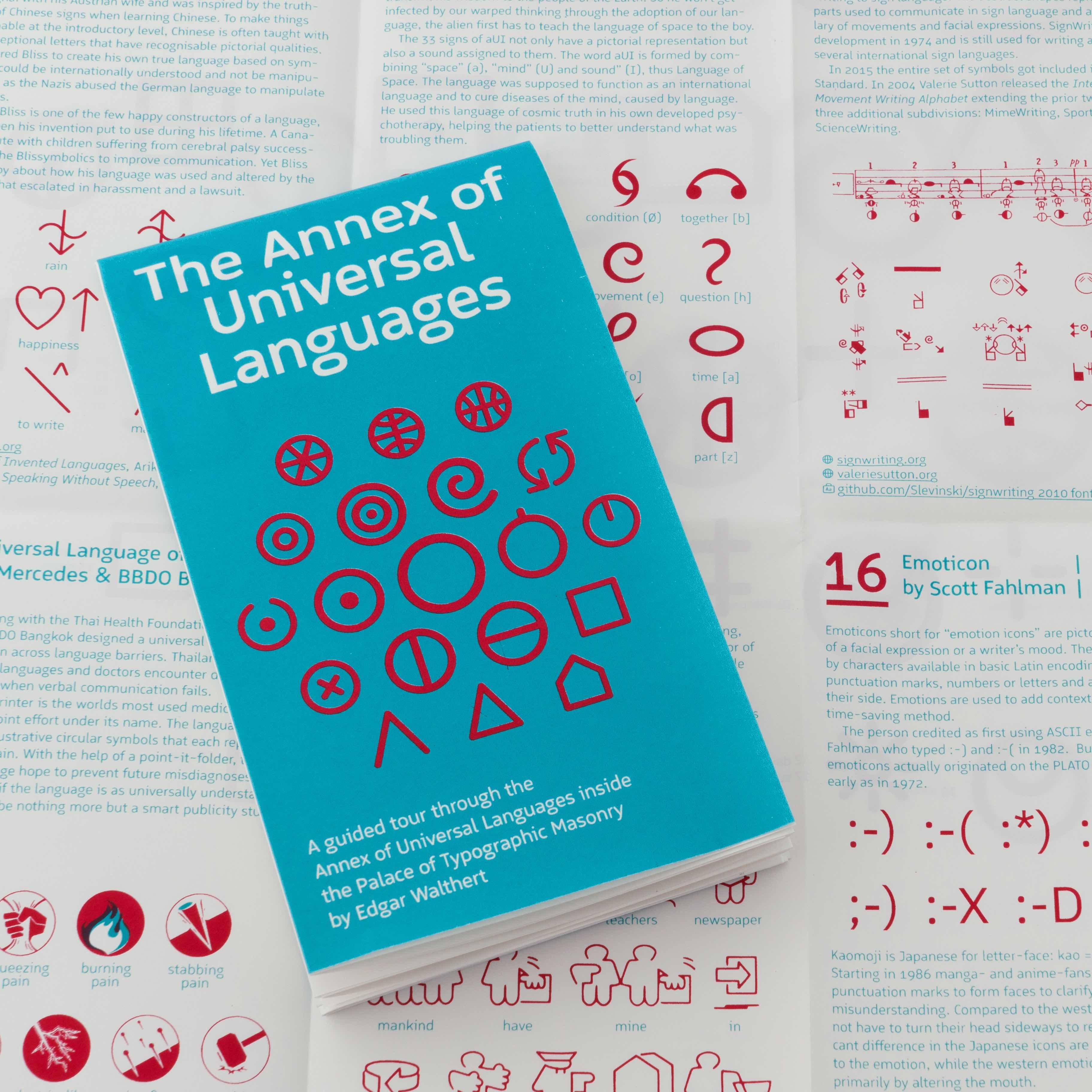 Poster mit 18 Universalsprachen   PAGE online