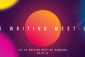 UX writing Meet-up mit Yuval Keshtcher in Hamburg