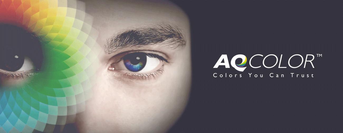 Exakte Farbwiedergabe mit der AQCOLOR-Technologie