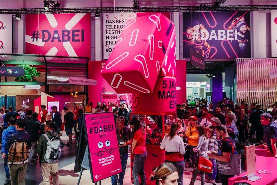 #DABEI: Dieser Messestand fiel auf der IFA 2019 auf
