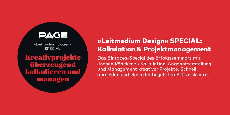 Seminar mit Rädeker zu Kalkulation und Projektmanagement