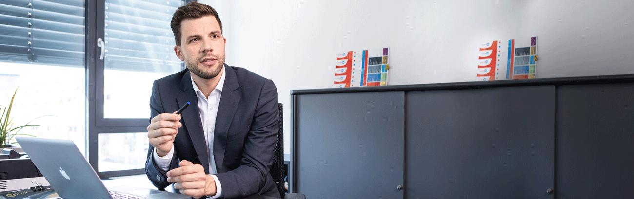 Fabian Frenzel, Vorstand Innovation/Marketing der Unitedprint SE