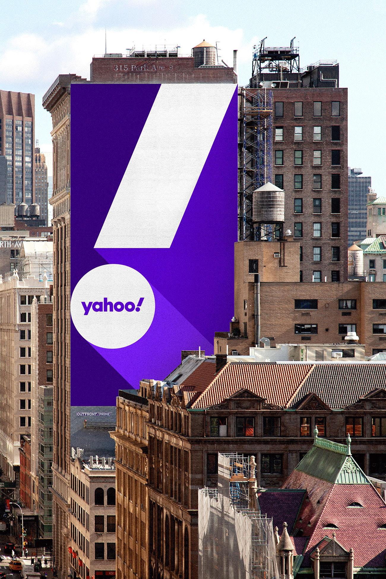 Schräger und flexibler: Pentagram modernisiert Yahoo Identity | PAGE online