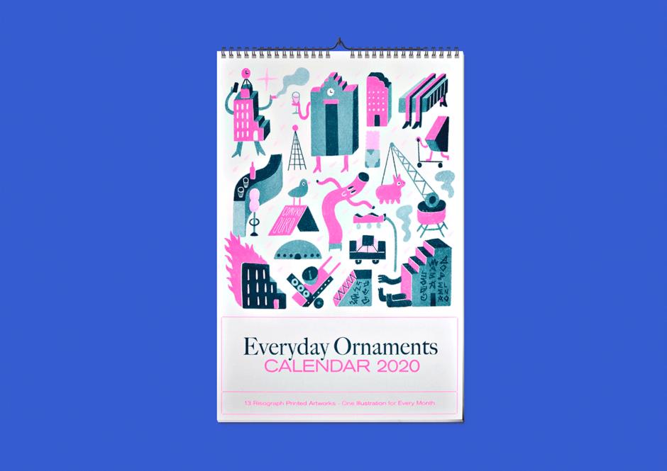 Riso-Kalendar »Everyday Ornaments«