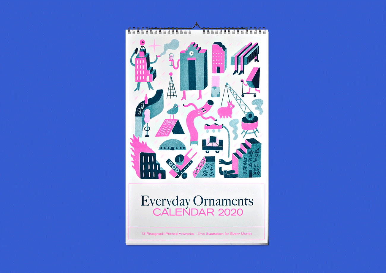 Riso-Kalendar »Everyday Ornaments«