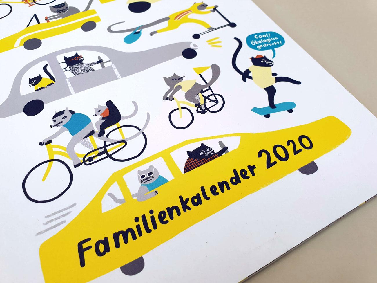 Familienplaner 2020 vom 3GradVerlag