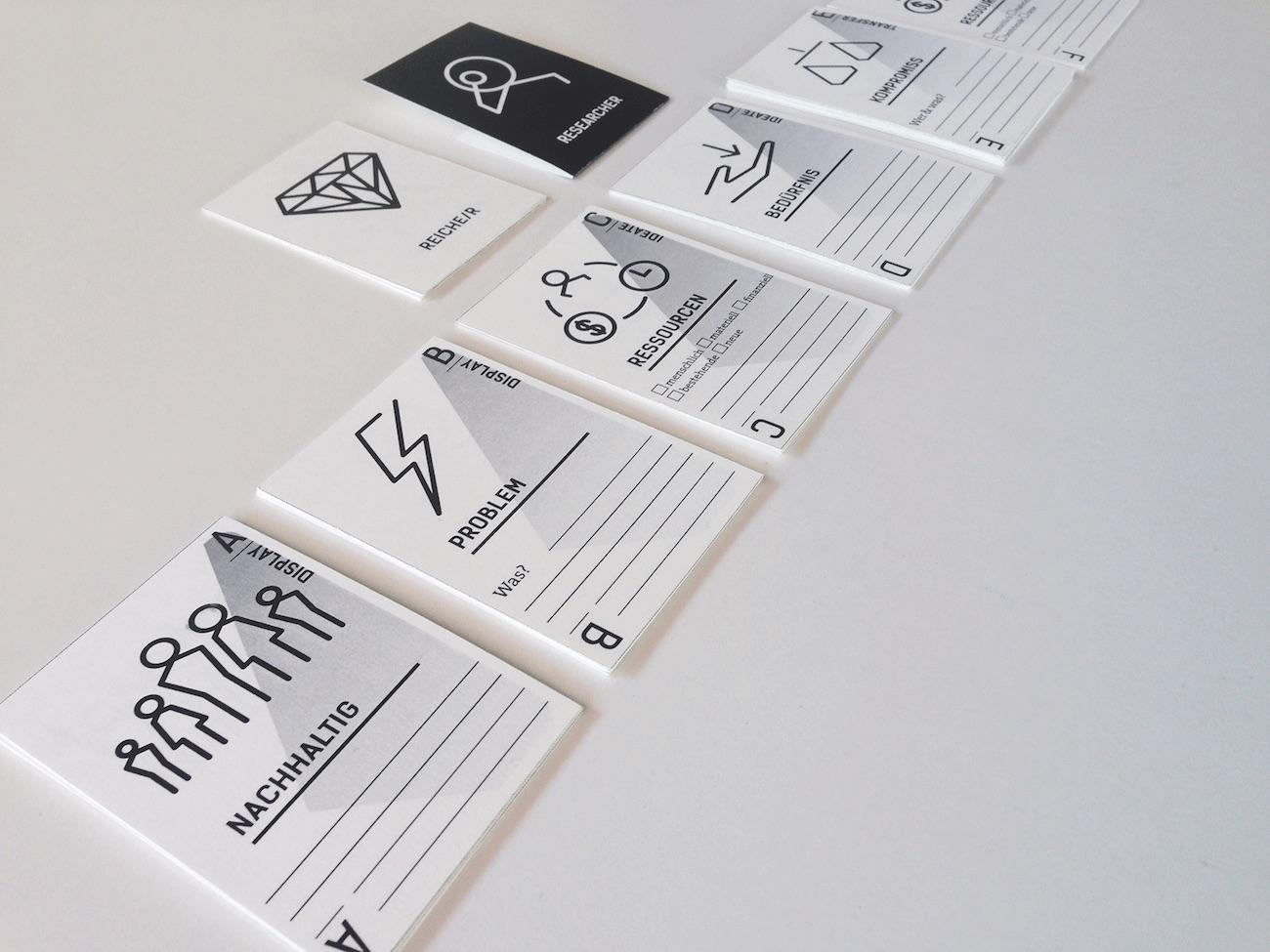Methodenkarten Design für soziale Projekte