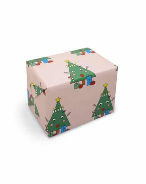 Geschenkpapier mit Tanne von redfries