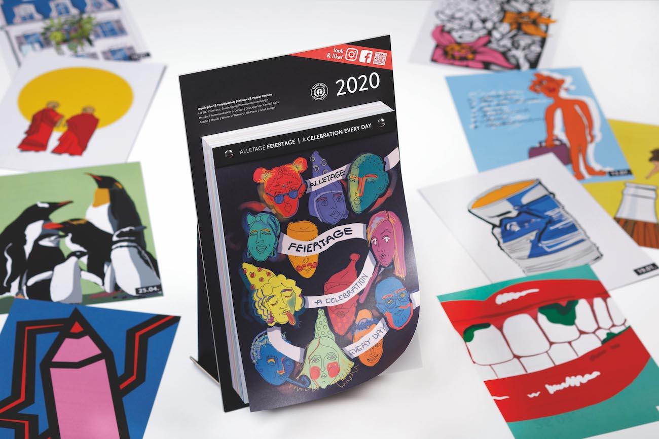 Kalender-Studentenprojekt Alletage Feiertage