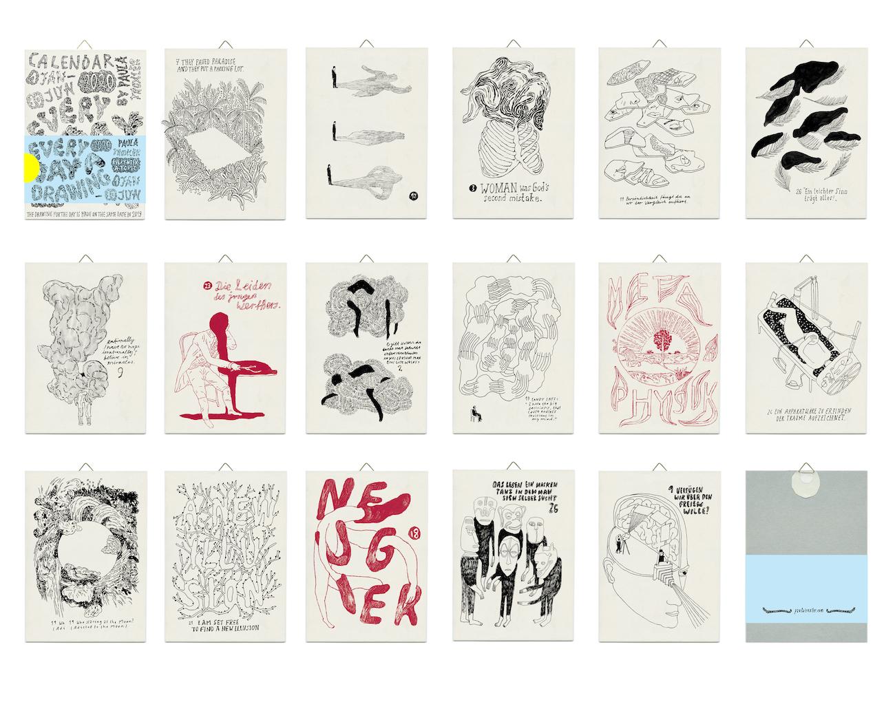 Kalender 2020 von Paula Troxler