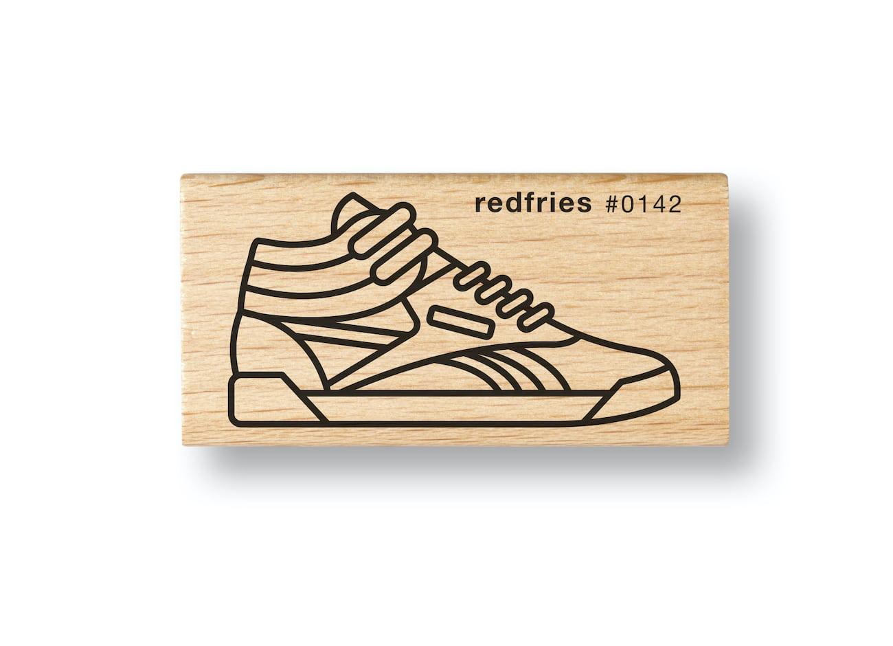 Kleines Geschenk: Sneaker-Stempel von redfries