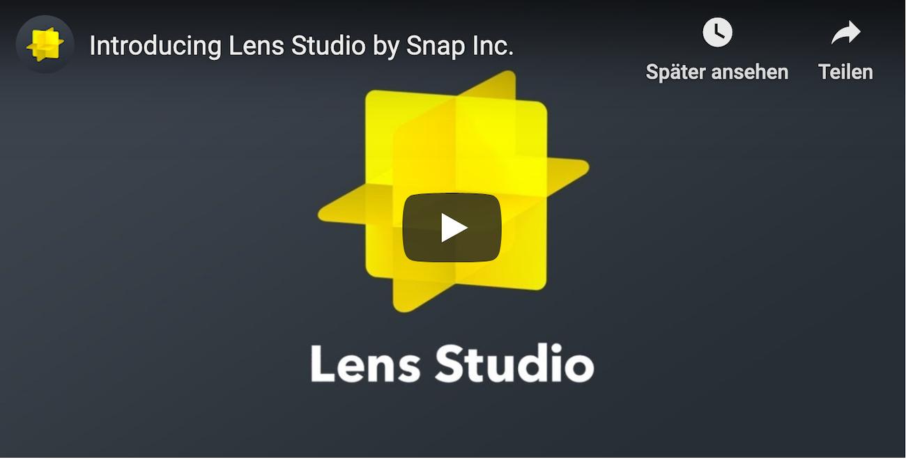 Lens Studio von Snapchat