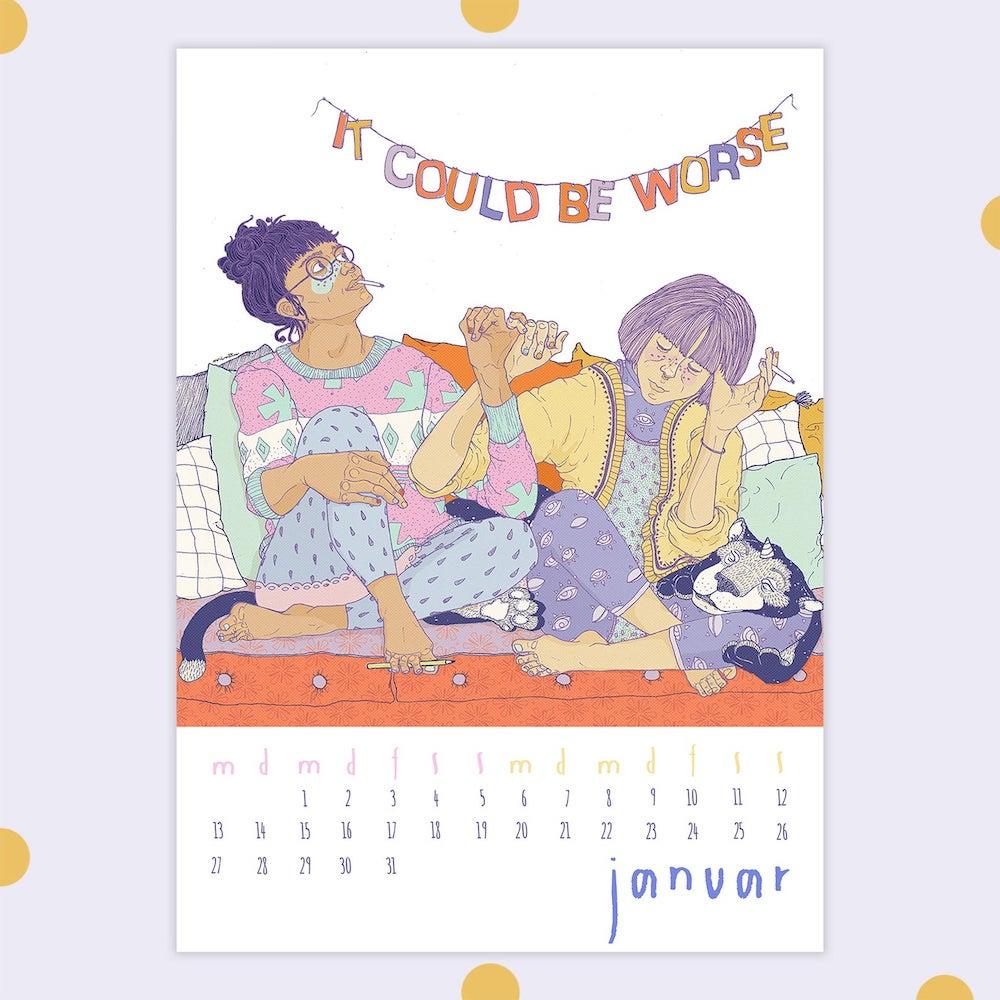 Empowerment Monat für Monat: Illustrationen von Minttuminttu
