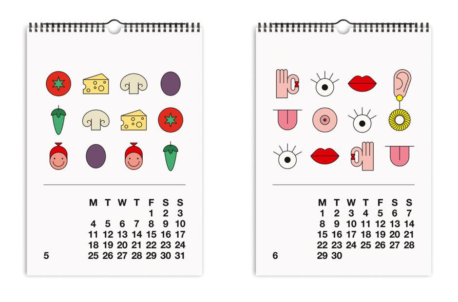 Design-Kalender als Geschenktipp