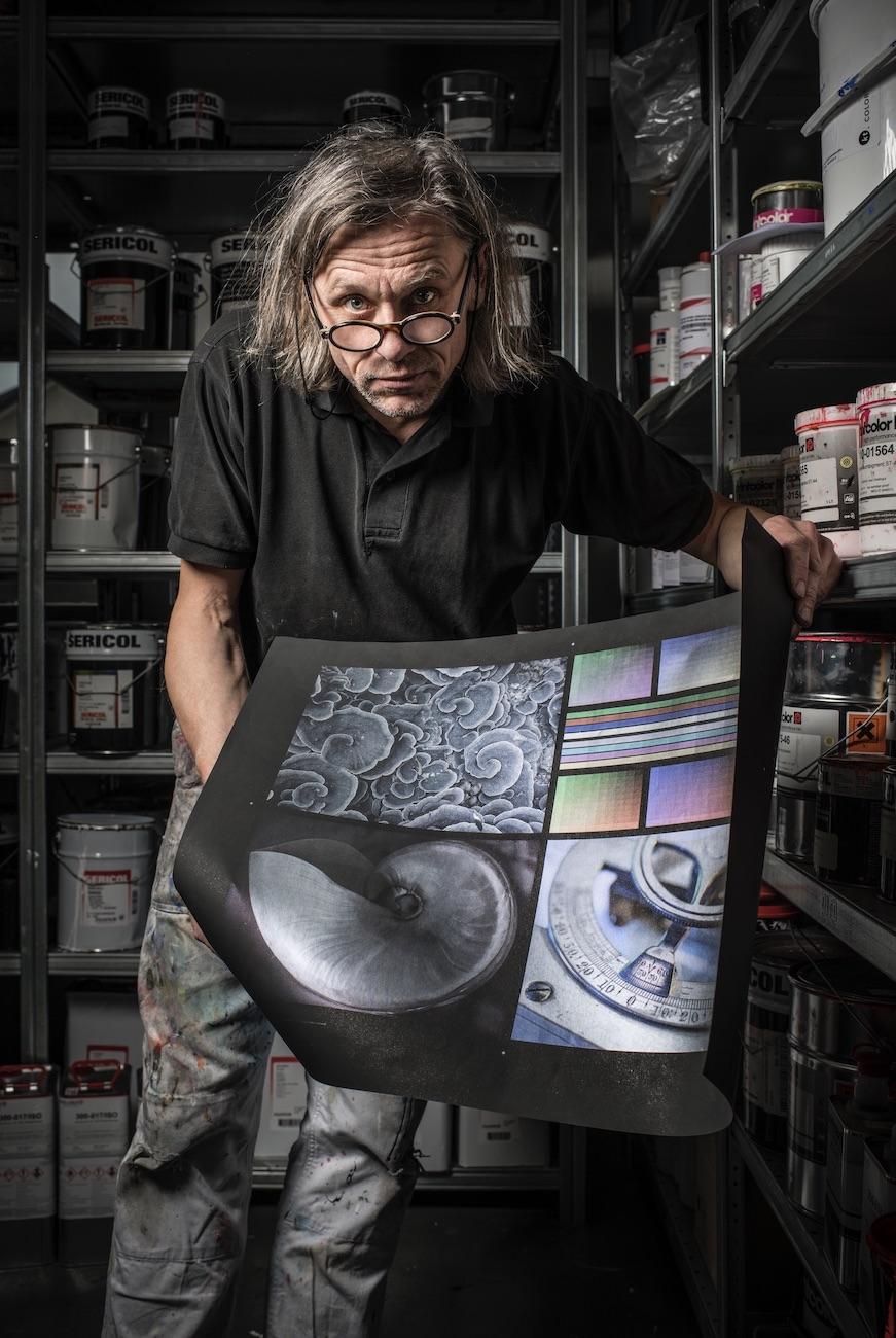 Schweizer Siebdrucker erfindet RGB-Druck