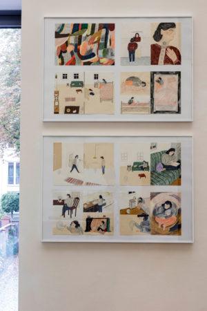 Burg Giebichenstein Kunsthochschule Halle, Traurigkeit, Illustration, Anna Neumann