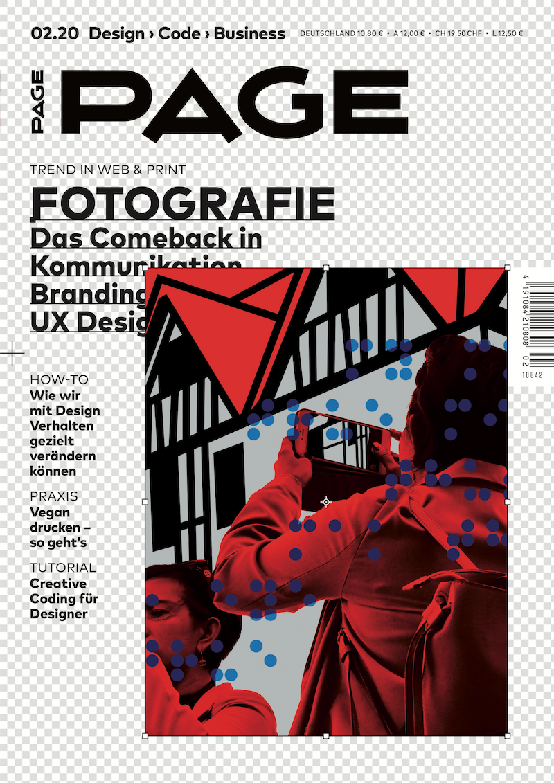 Berufspraxis, Branding, Fotografie, UX Design