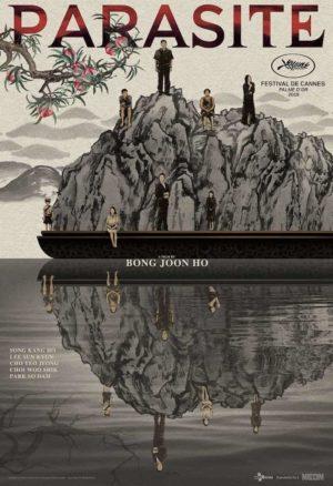 Parasite-Filmplakate: Der Film inspiriert Gestalter