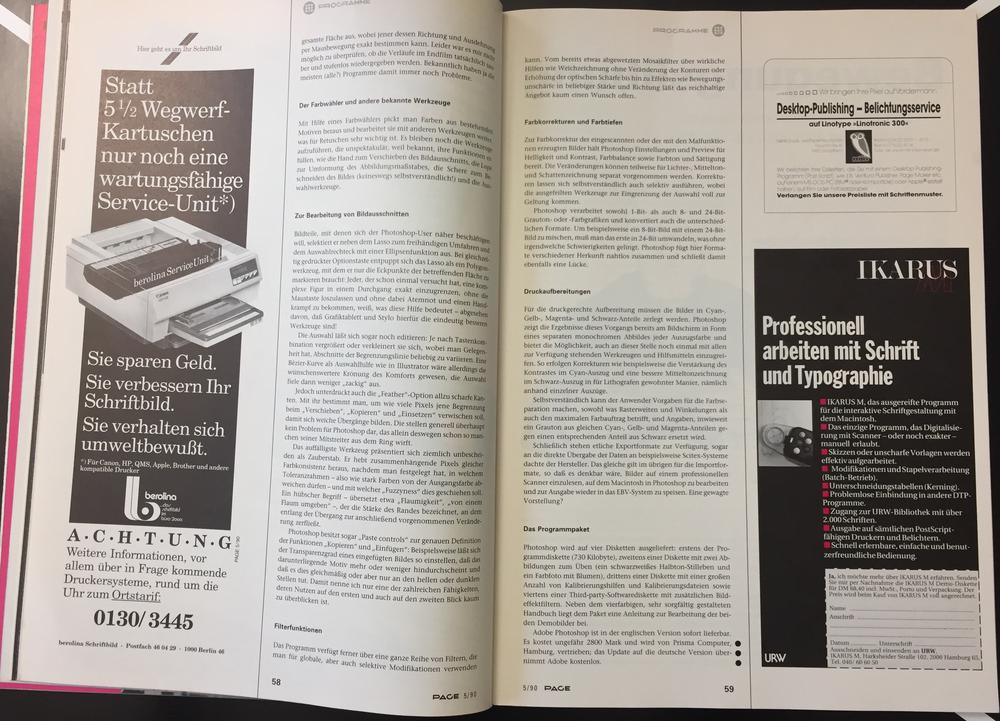 30 Jahre Photoshop PAGE 5/90 Seite3