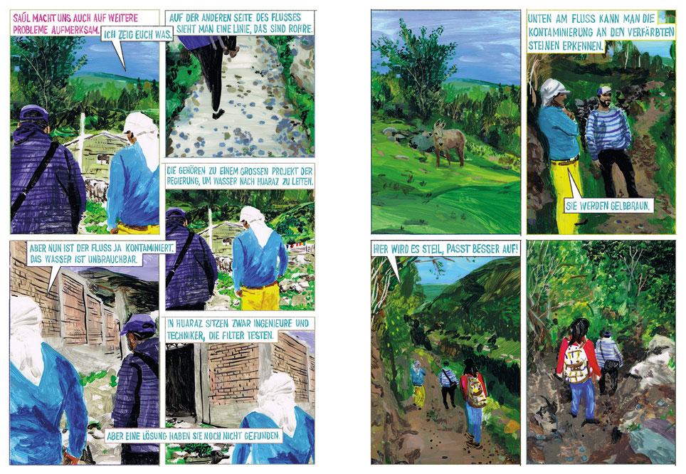 Comicreportage »0,47% Die erste Klimaklage« von Asuka Grün