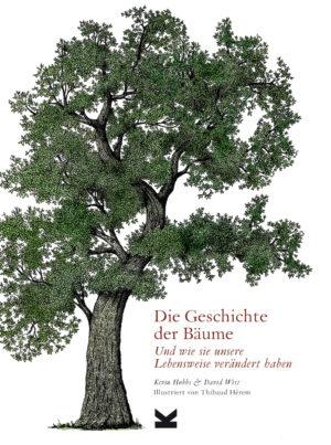 Die Geschichte der Bäume, das Cover mit Baum