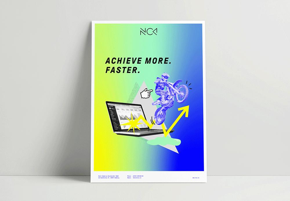 Grafikdesign BEN&JAN Werbeplakat