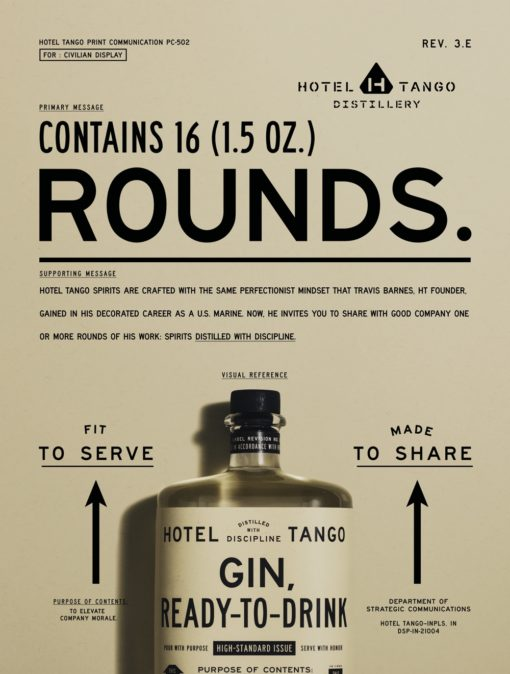 Hotel Tango Poster Gin