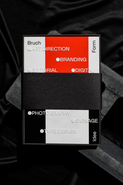 Studio Bruch Portfoliobuch