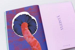 Kochbuch mit Pilz-Illustration
