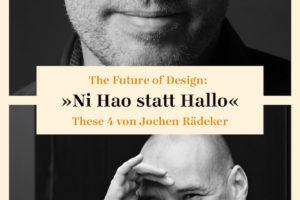 Zukunft Design: Rädeker und Kochan in der Debatte