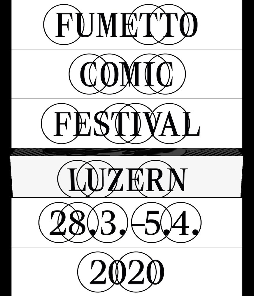 Animiertes Website Intro Festival Fumetto