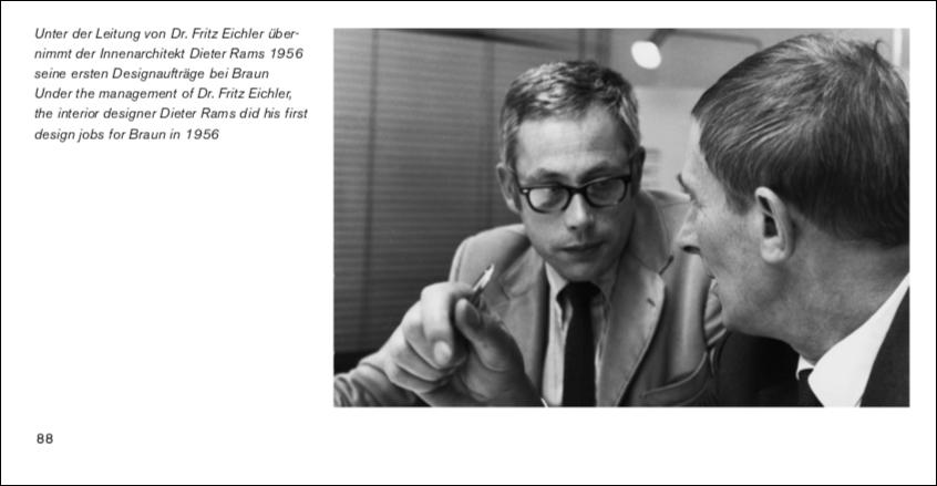 Braun Design: Dieter Rams und Fritz Eichler