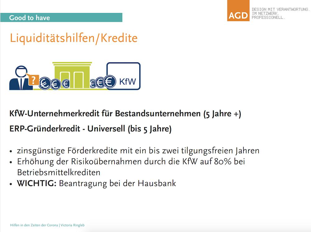 Slide aus der Präsentation von AGD-Chefin Victoria Ringleb.