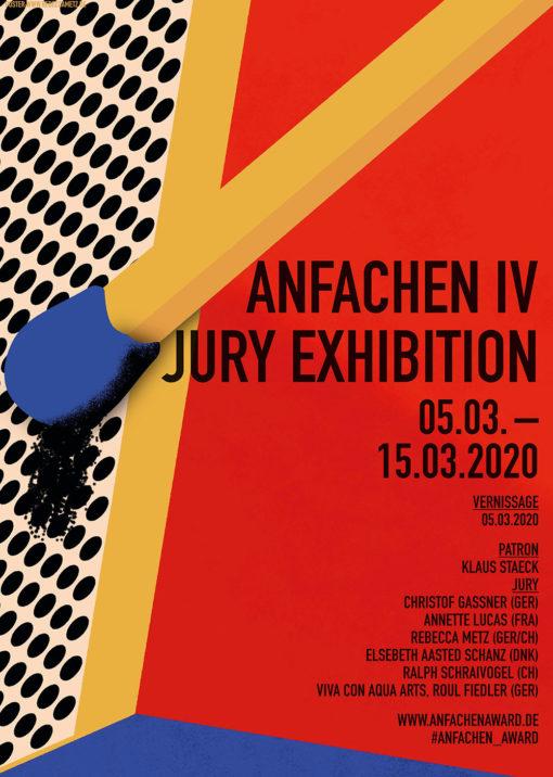 Anfachen Award IV, Jury Exhibition