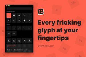 AppGlyphsfinder_Übersicht