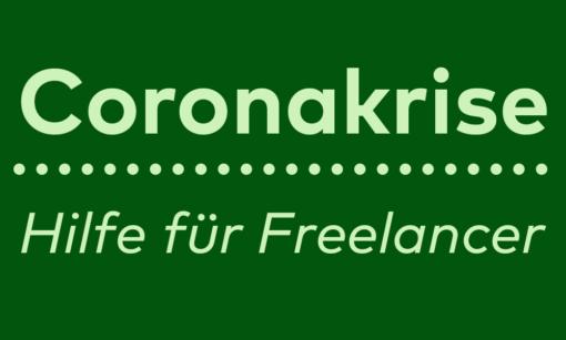 Coronakrise: Wichtige Infos für Freelancer