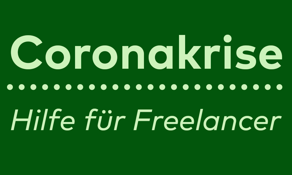 Coronakrise: Das müssen Freelancer jetzt wissen