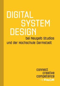 Produkt: Booklet »Digital System Design bei Neugelb Studios und der Hochschule Darmstadt«