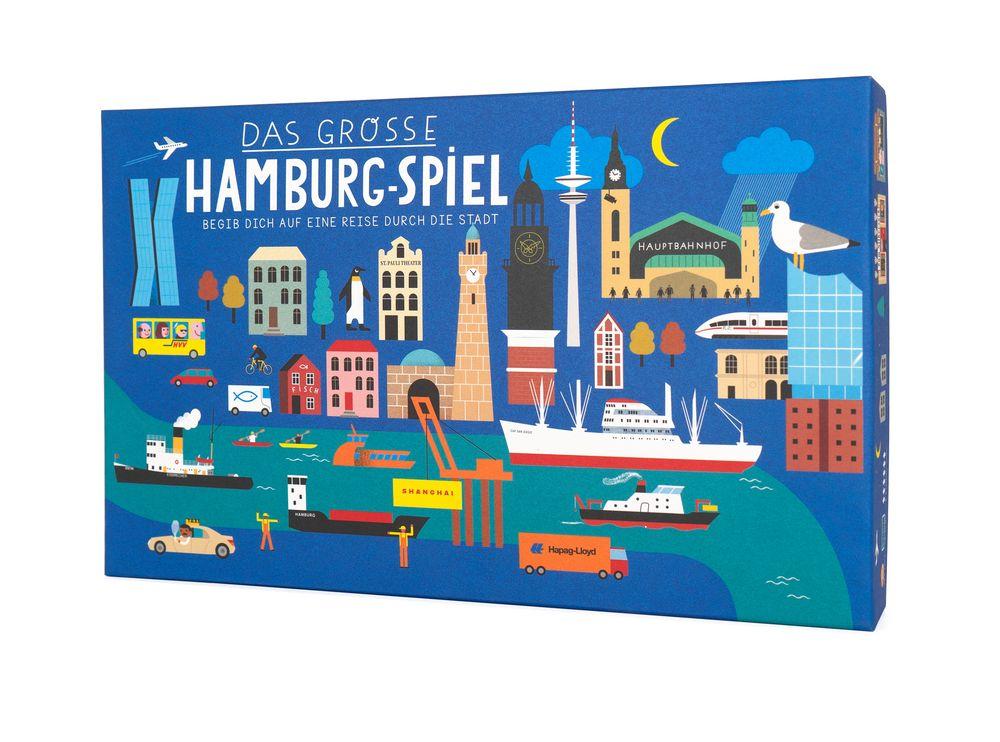 Hamburg Brettspiel Stadtfuehrer