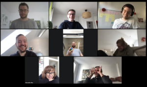 MatchManao Team-Meeting in Zoom